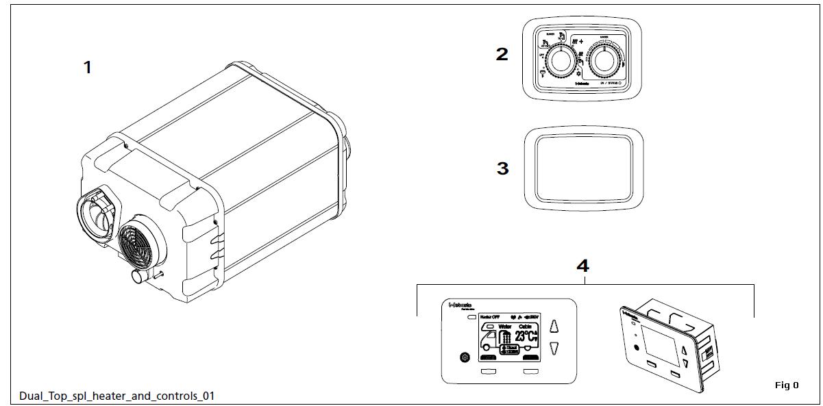 webasto dual top camperverwarming rha 100 101 102 dualtop. Black Bedroom Furniture Sets. Home Design Ideas