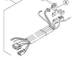 Webasto Wiring harness for Thermo Top EVO. 12 volt on