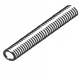 Webasto Exhaust hose. Ø 80 mm. Stainless steel