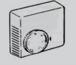 Eberspächer Mecanical thermostat with on/off setting